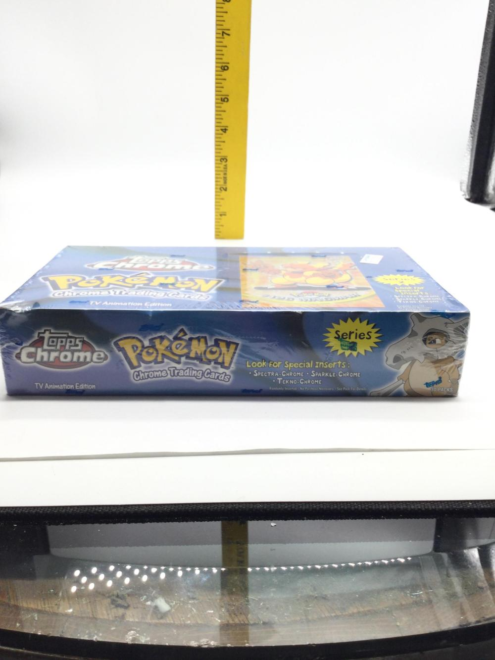 Pokémon Topps Chrome Trading Cards Sealed Box