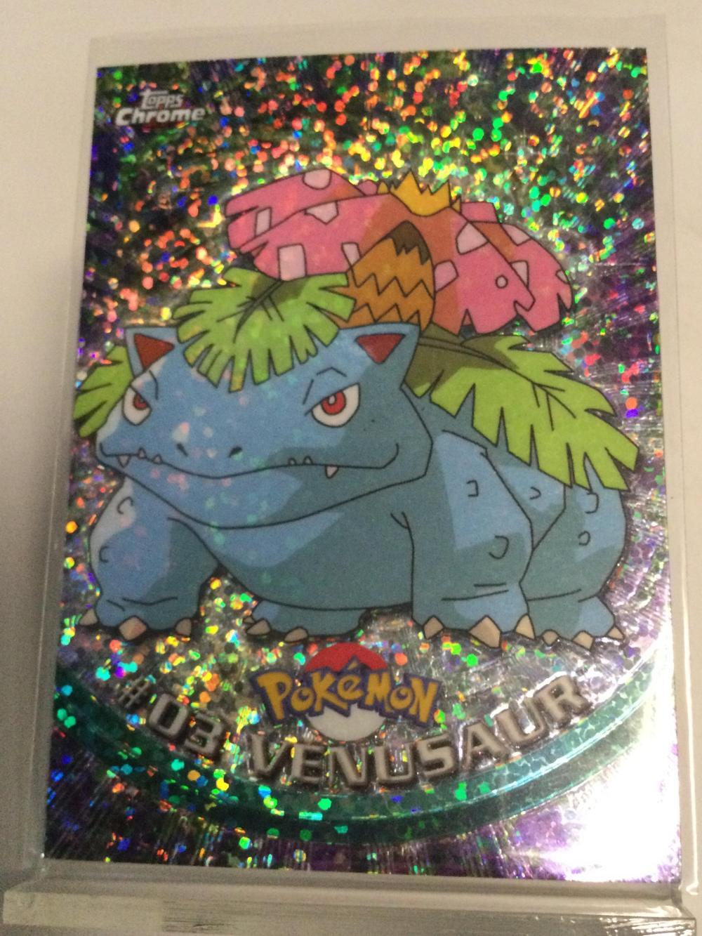 Pokémon Sparkle Chrome #03 Venusaur Card