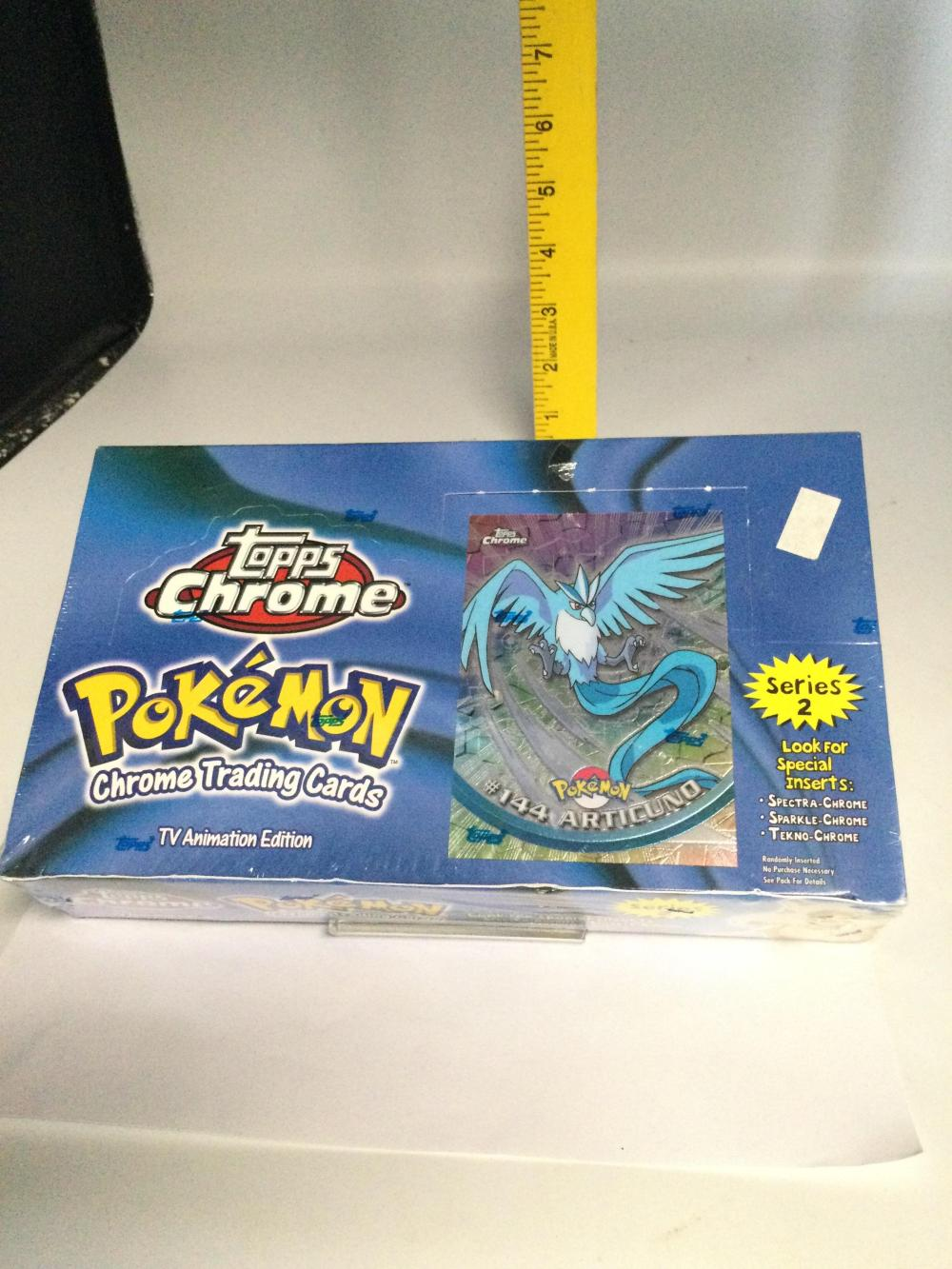 Pokémon Chrome Trading Cards