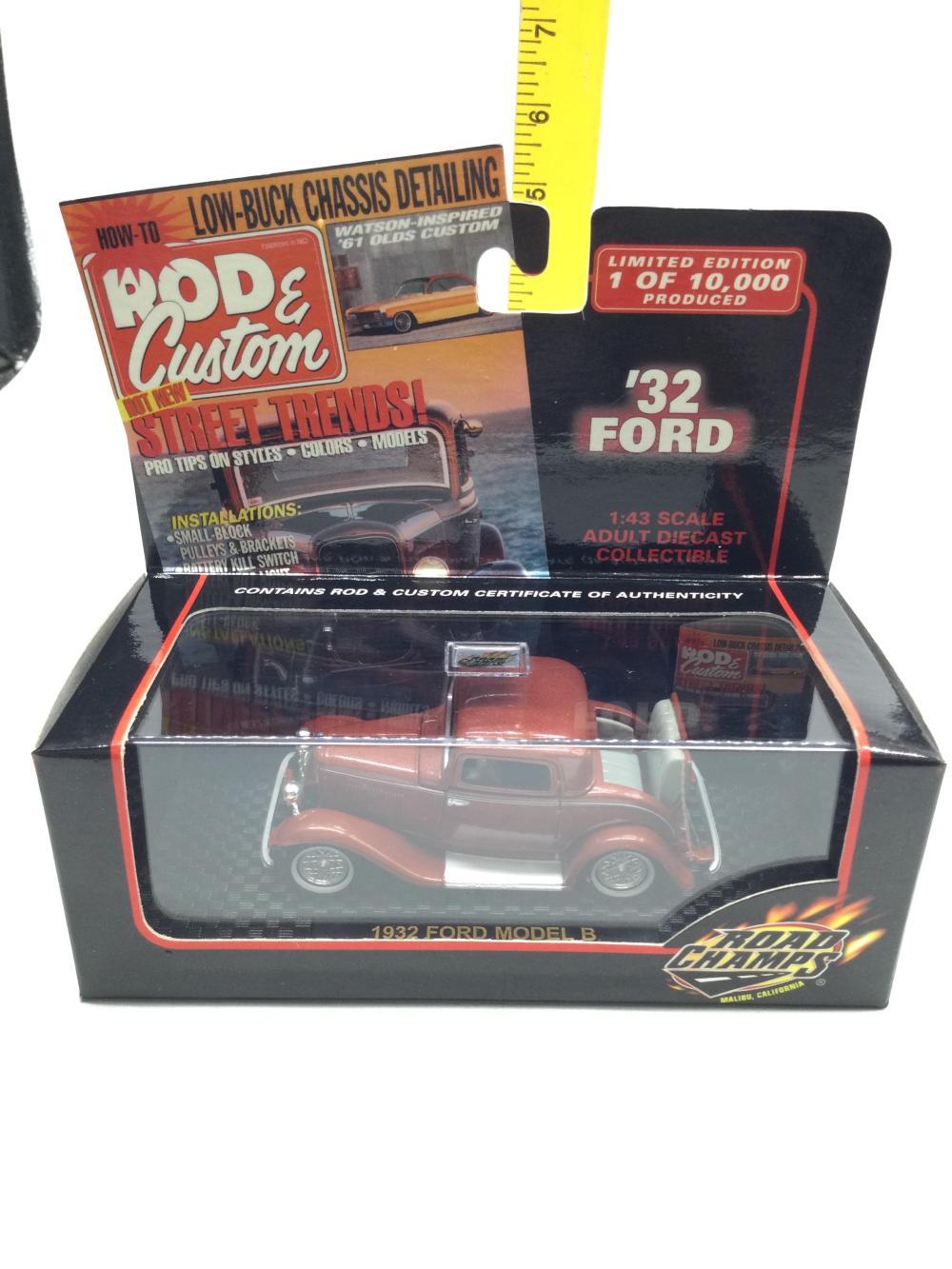 Rod & Custom 1:43 Scale