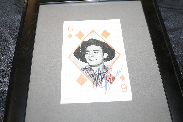 "Lot 2: DENNIS WEAVER FROM ""GUN SMOKE"""