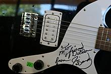 Lot 11: Jim Dandy autographed First Act Electric Guitar
