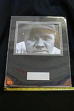 Lot 18: Babe Ruth Photo with Autograph