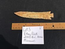 Lot 3: Artifact, Rock, Tool, Natural, Collectible, Arrowhead,