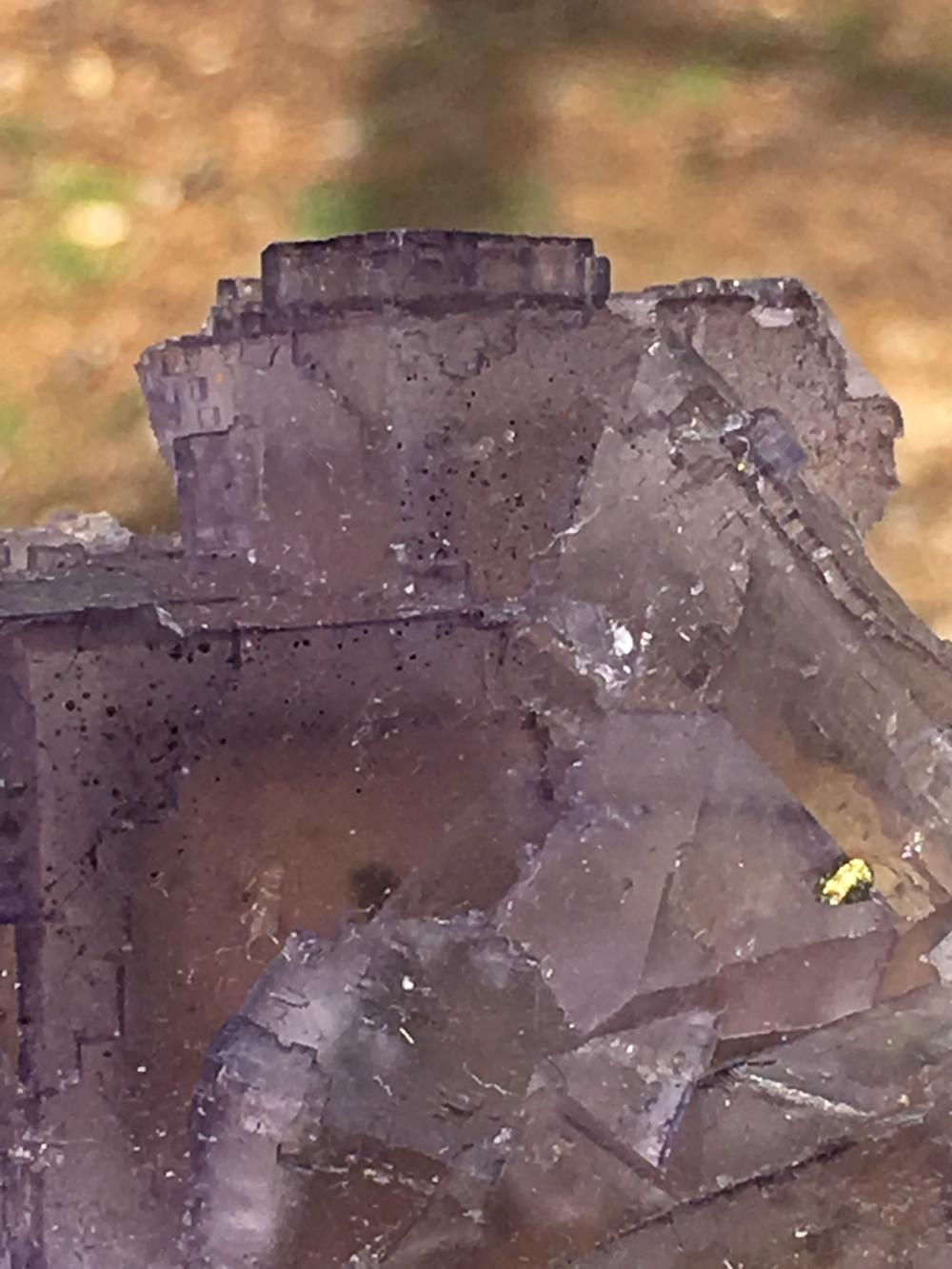 Lot 28: Fluorite, Rock, Crystla, Natural, Collectible, Mineral, Specimen