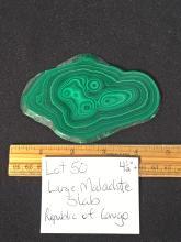 Lot 50: Malachite, Rock, Crystal, Natural, Jewelry, Mineral, Specimen