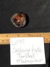 Lot 97: Agate, Rock, Crystal, Natural, Collectible, Tumbled