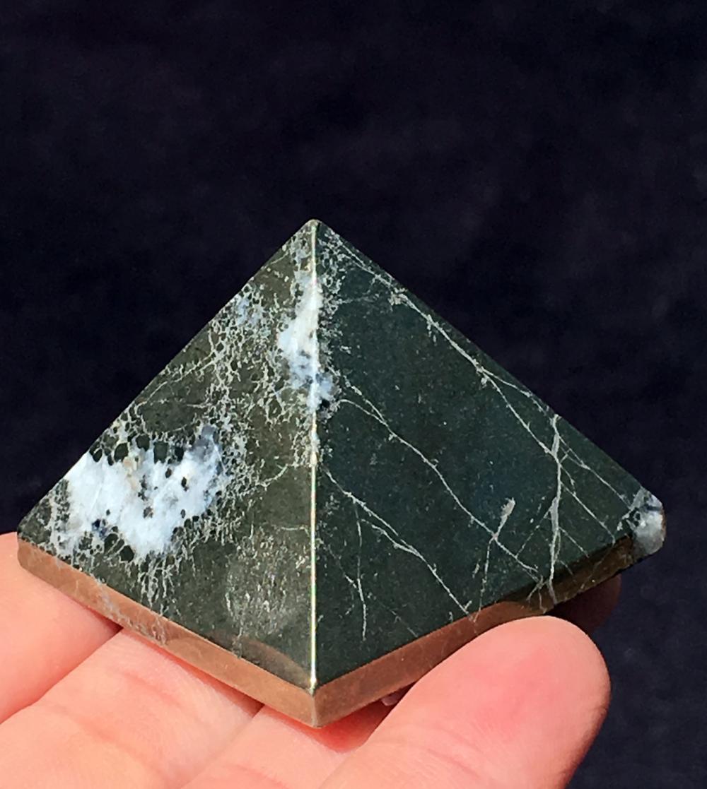Lot 98: Pyrite, Rock, Crystal, Natural, Décor, Collectible, Carving, Pyramid