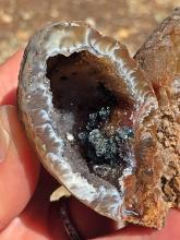 Lot 99: Geode, Rock, Crystal, Natural, Collectible, Mineral, Specimen