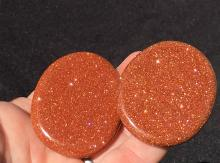 Lot 105: Goldstone, Glass, Crystal, Collectible, Tumbled