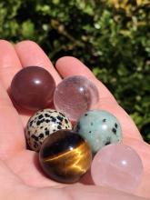 Lot 145: Rock, Crystal, Natural, Toy, Collectible, Marble, Sphere