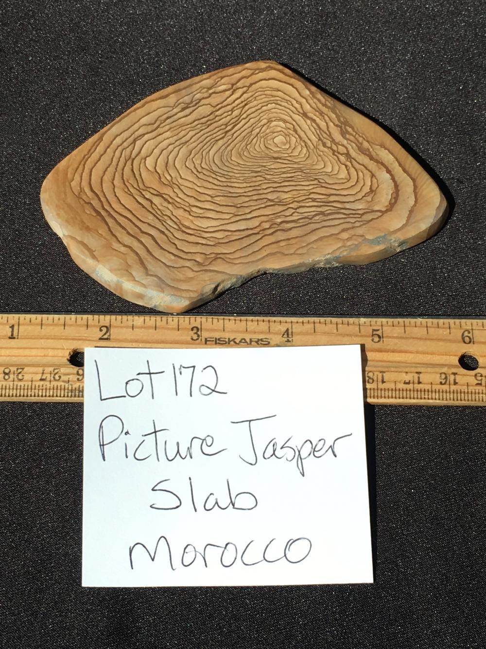 Lot 172: Jasper, Rock, Crystal, Natural, Décor, Collectible, Slab