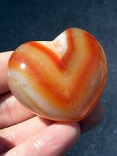 Lot 174: Agate, Rock, Crystal, Natural, Collectible, Carving, Heart