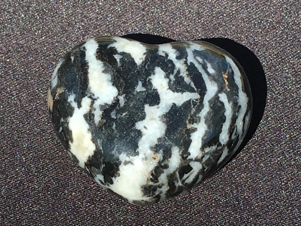 Marble, Rock, Crystal, Natural, Collectible, Carving, Heart