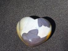 Lot 187: Mookite, Rock, Crystal, Natural, Collectible, Carving, Heart