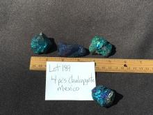 Lot 189: Chalcopyrite, Rock, Crystal, Natural, Collectible, Mineral, Specimen
