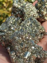 Lot 190: Pyrite, Rock, Crystal, Natural, Collectible, Mineral, Specimen