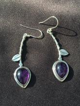 Lot 208: Amethyst, Rock, Crystal, Natural, Jewelry, Sterling