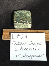 Lot 214: Jasper, Rock, Crystal, Natural, Jewelry, Lapidary, Cabochon