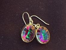 Lot 235: Mystic topaz, Rock, Crystal, Natural, Jewelry, Sterling