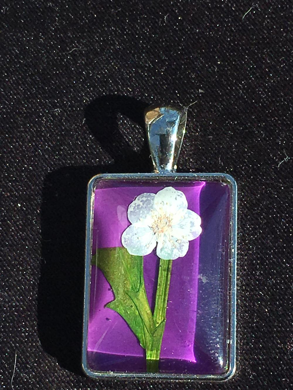 Lot 239: Flower, Natural, Jewelry, Sterling