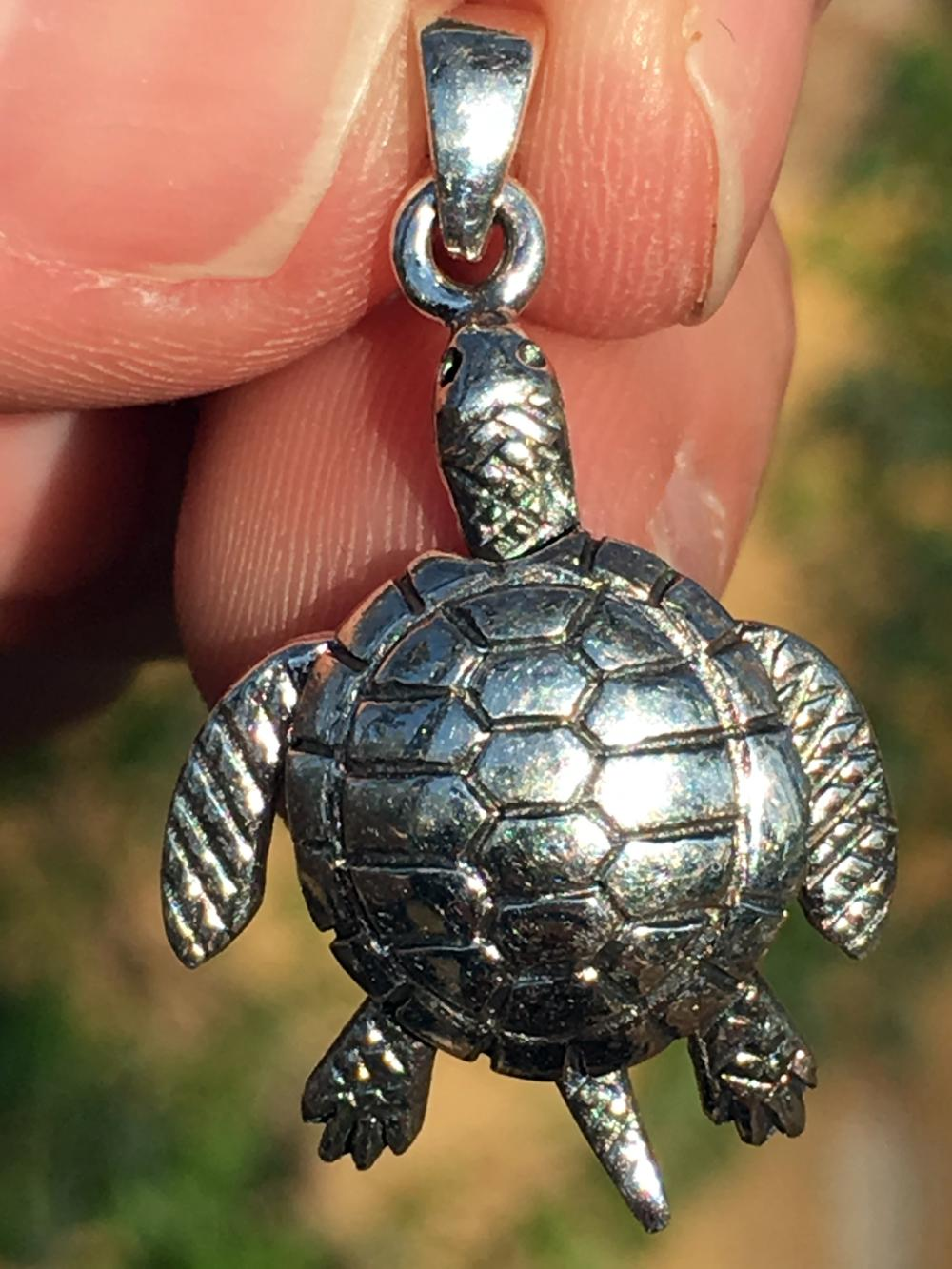 Lot 247: Silver, Jewelry, Charm, Turtle