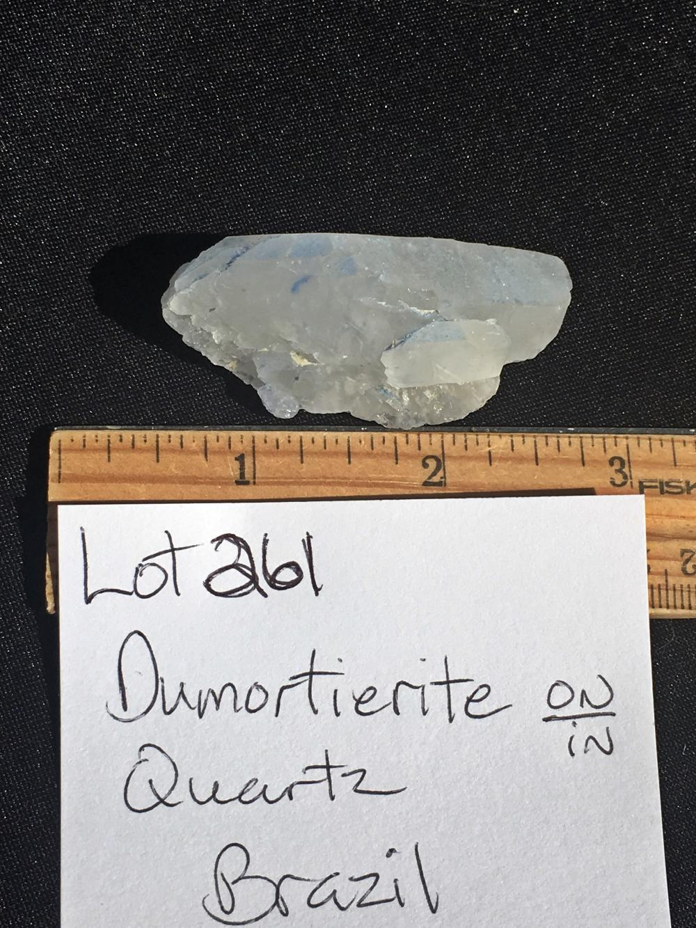 Lot 261: Quartz, Rock, Crystal, Natural, Collectible, Mineral, Specimen