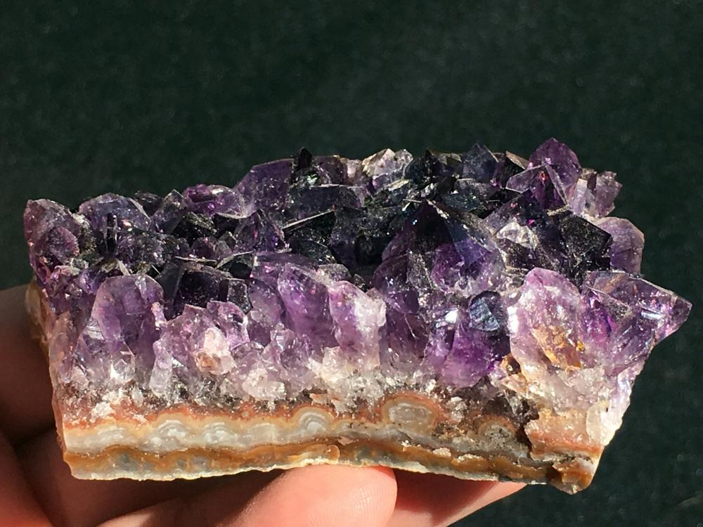 Lot 272: Amethyst, Rock, Crystal, Natural, Collectible, Mineral, specimen