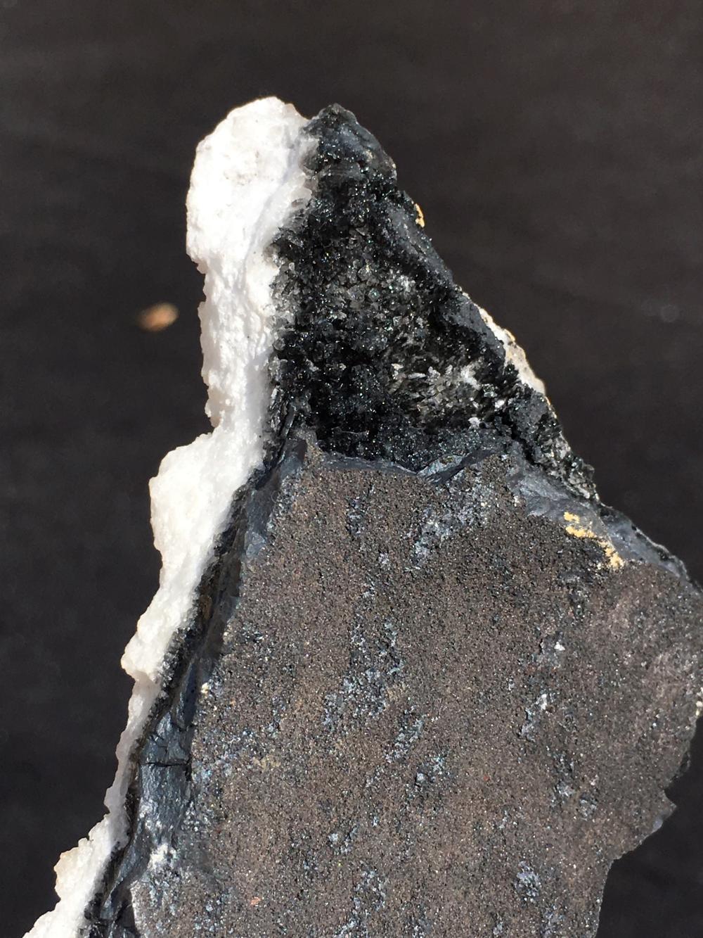 Lot 287: Calcite, Psilomene, Rock, Crystal, Natural, Collectible, Mineral, Specimen