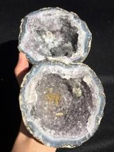 Lot 291: Geode, Rock, Crystal, Natural, Collectible, Mineral, Specimen
