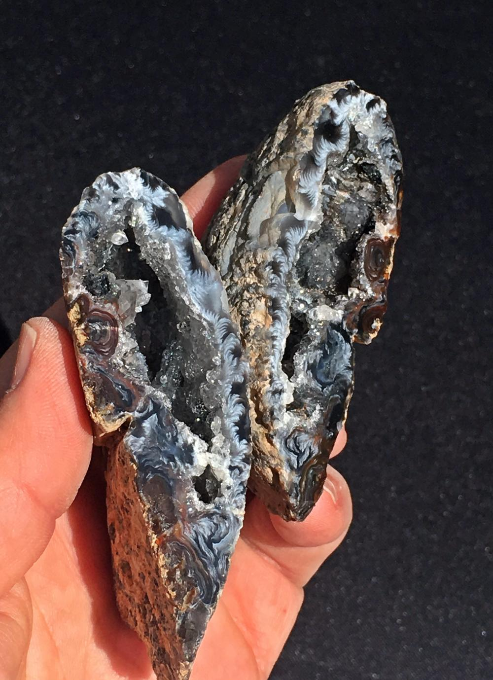 Lot 295: Geode, Rock, Crystal, Natural, Collectible, Mineral, Specimen