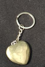 Lot 334: Pyrite, Rock, Crystal, Natural, Keychain, Collectible
