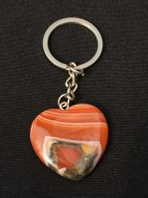 Lot 335: Agate, Rock, Crystal, Natural, Keychain