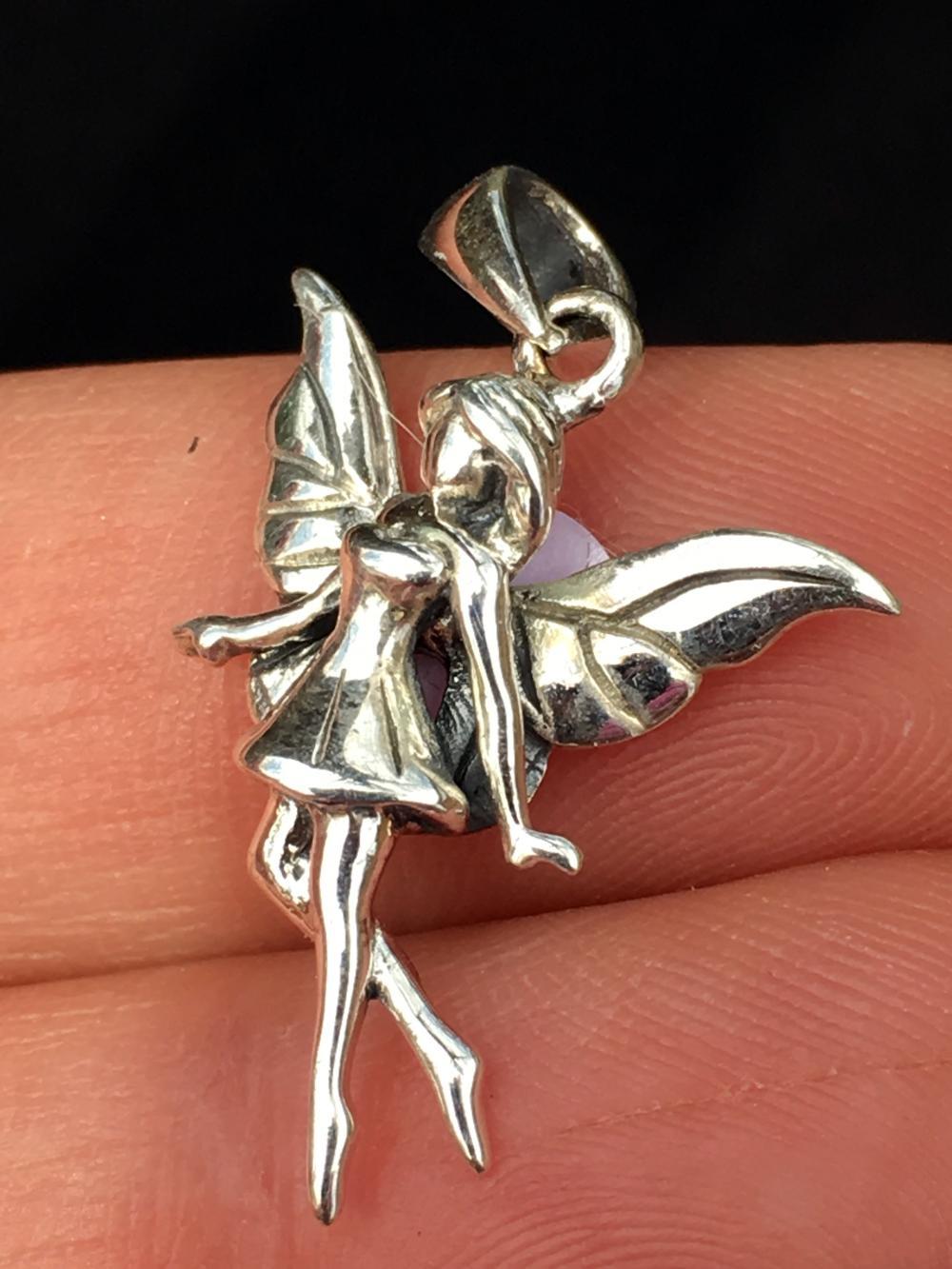 Lot 336: Silver, Jewelry, Charm, Fairy