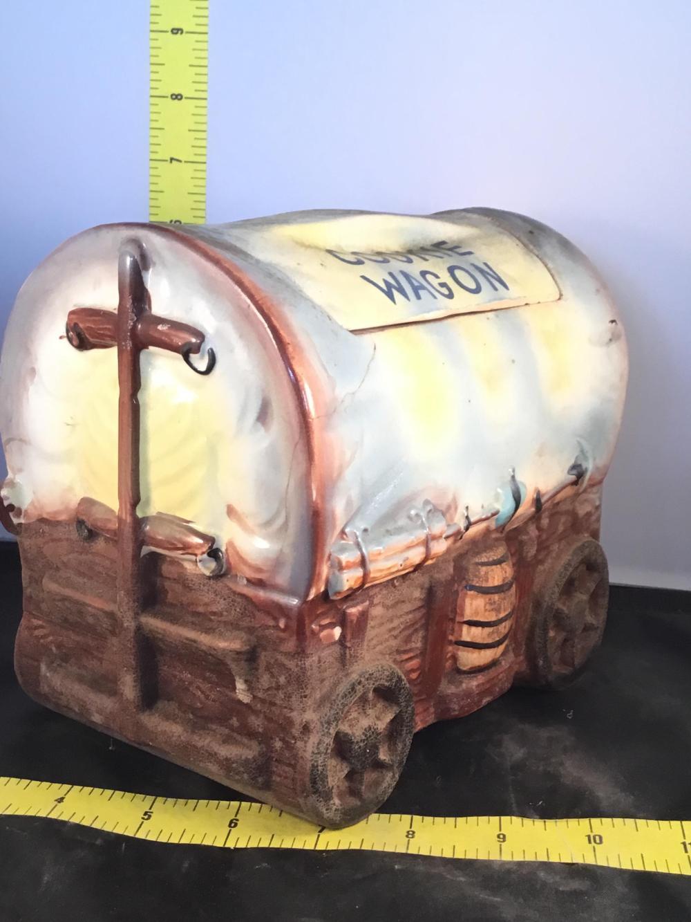 Cookie Wagon Cookie Jar