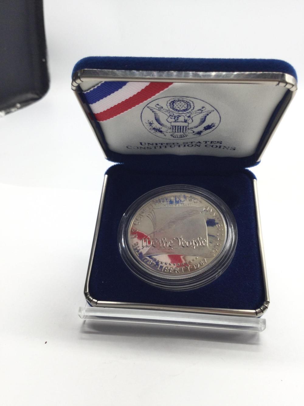 US Constitution Commemorative Coin