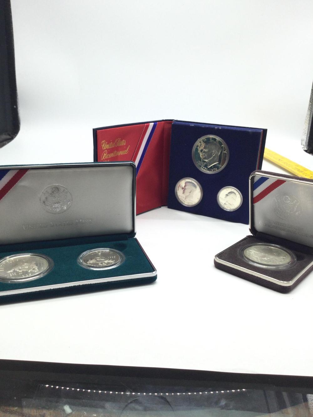 3 Commemorative Coin Sets