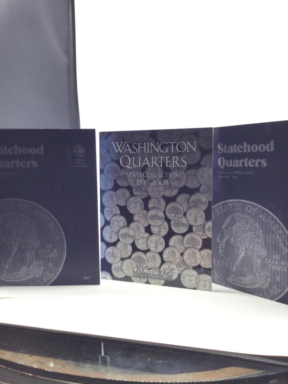 3 Washington State Quarter Albums