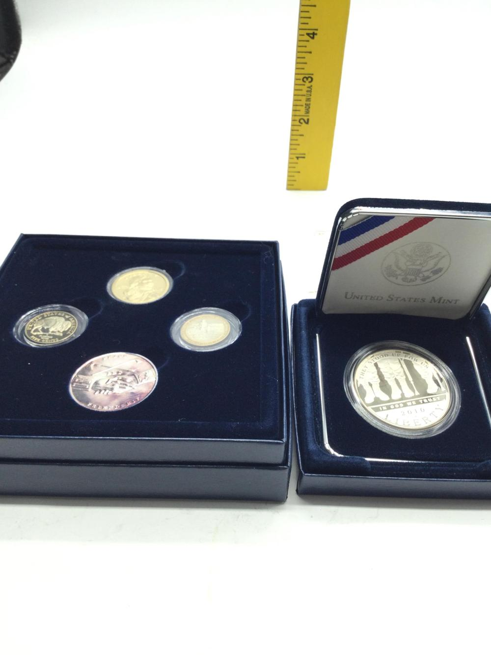 2 Commemorative Coin Sets