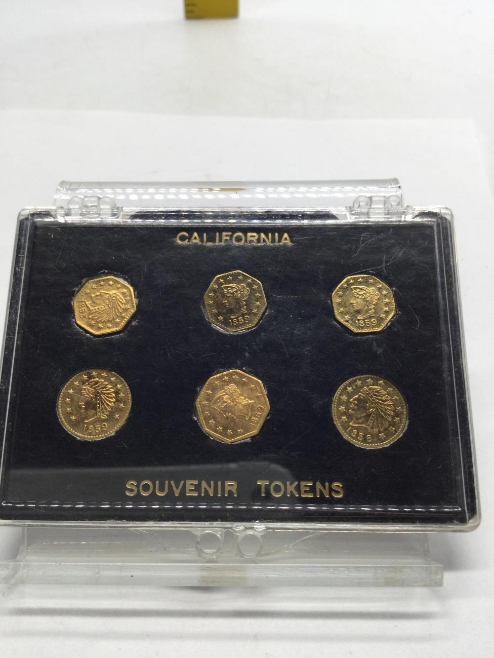 """California Souvenir """"Gold"""" Tokens"""