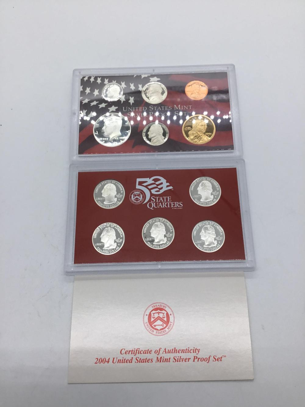 United States silver proof set