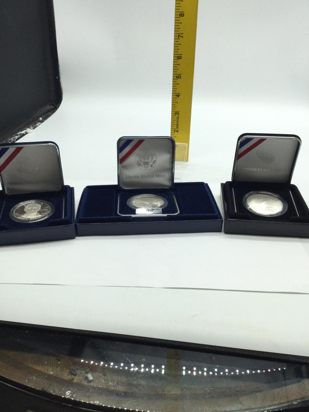 3 Commemorative Coins