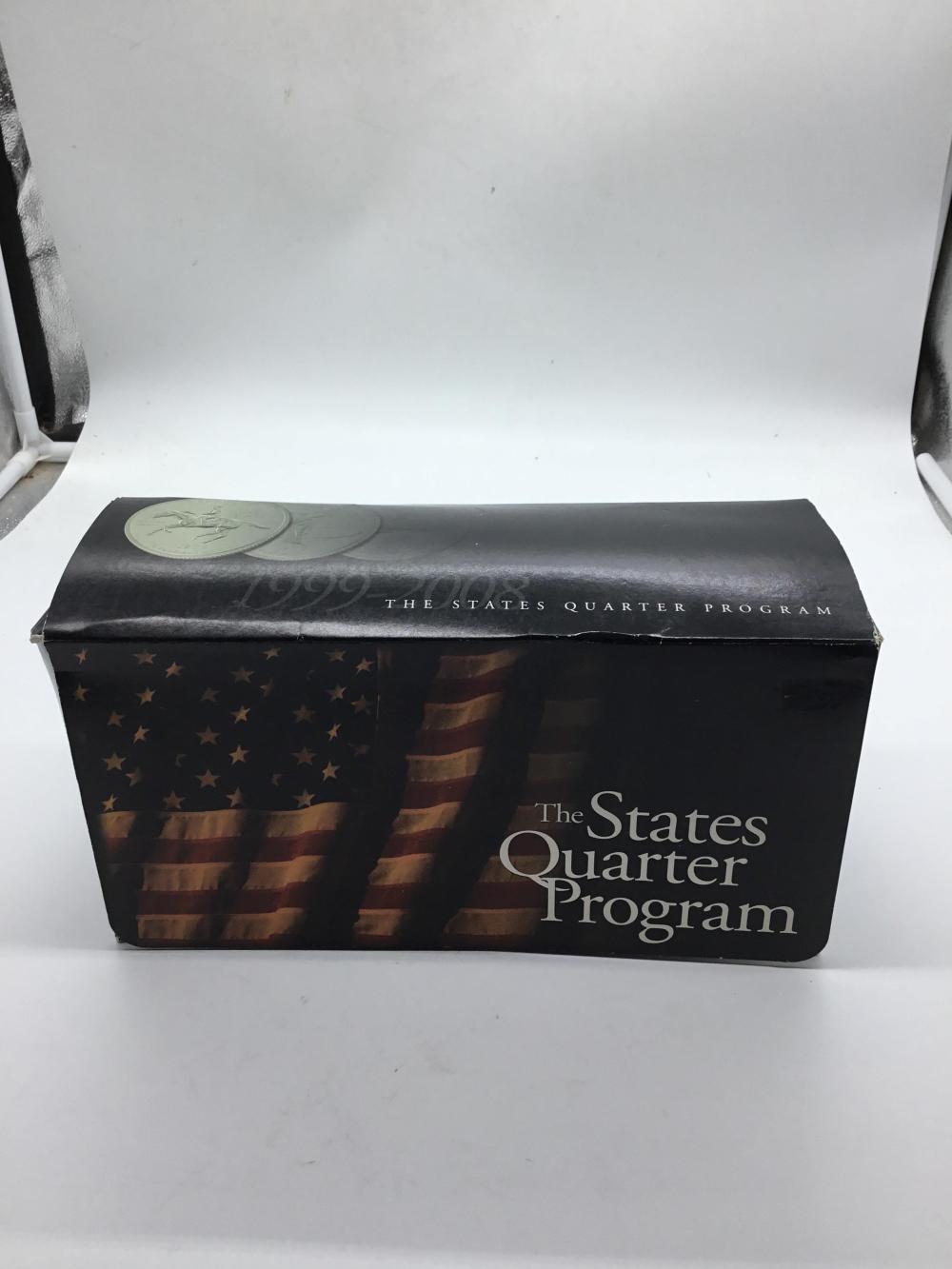 1999 to 2008 state quarter set