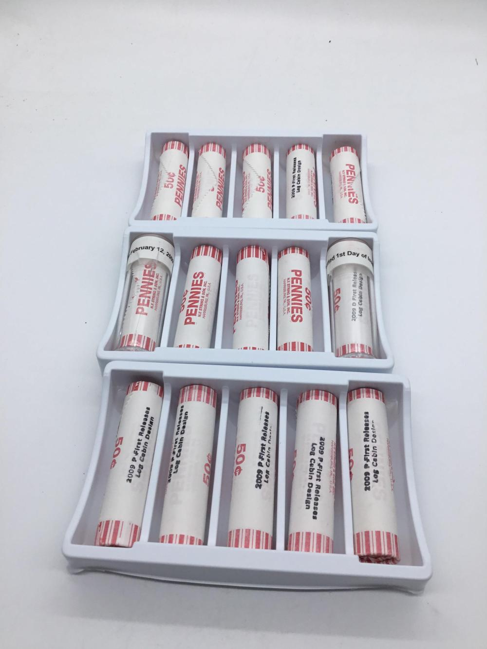 12 rolls of birth place cents