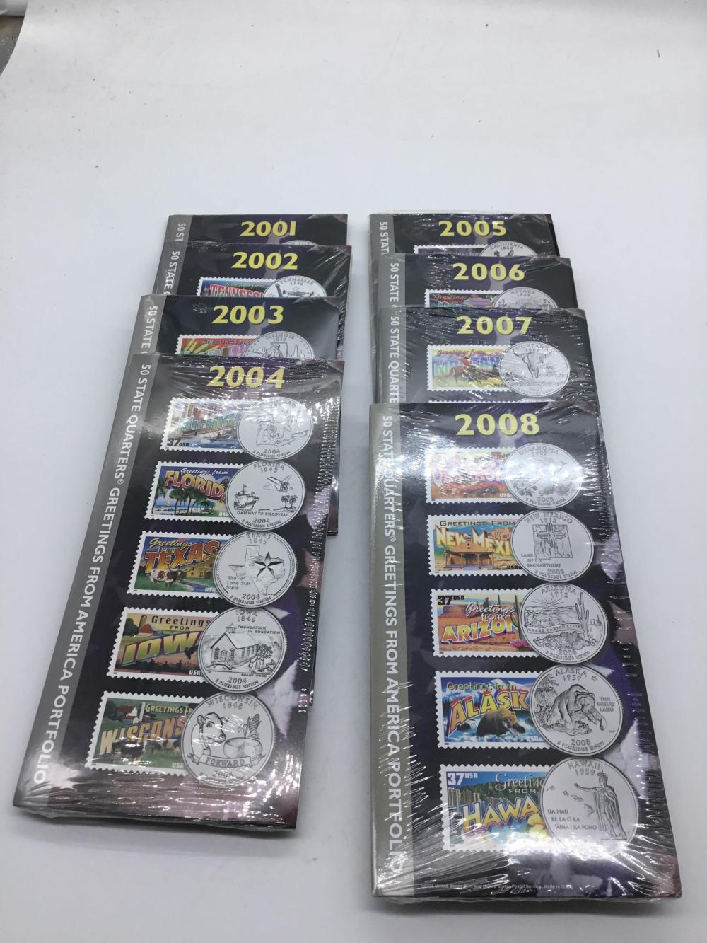 50 state quarters greetings from American