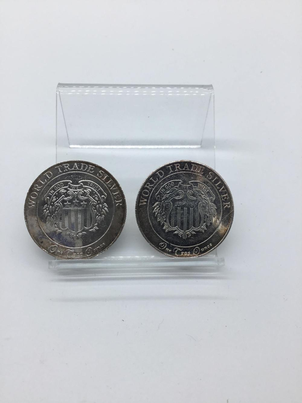 World trade silver rounds