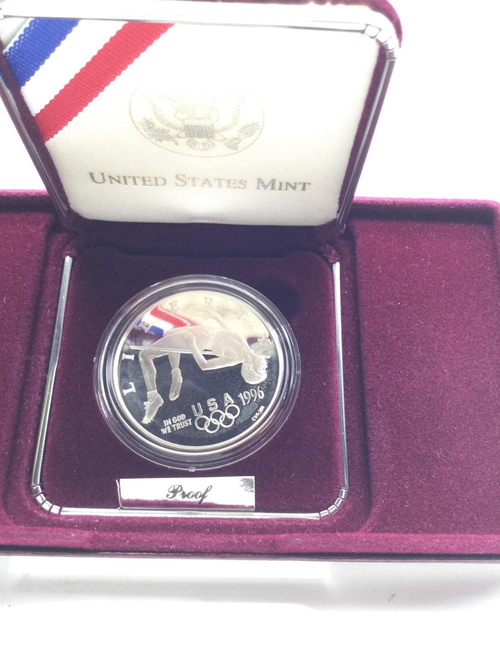 1996 Olympic Commemorative Silver Dollar