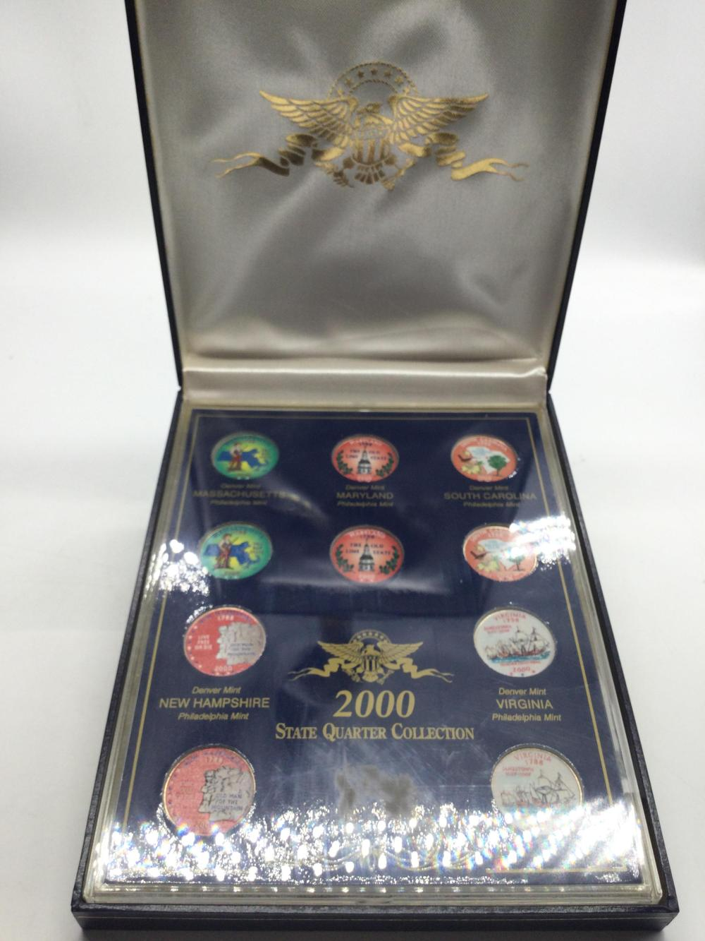 2000 Colorized State Quarters