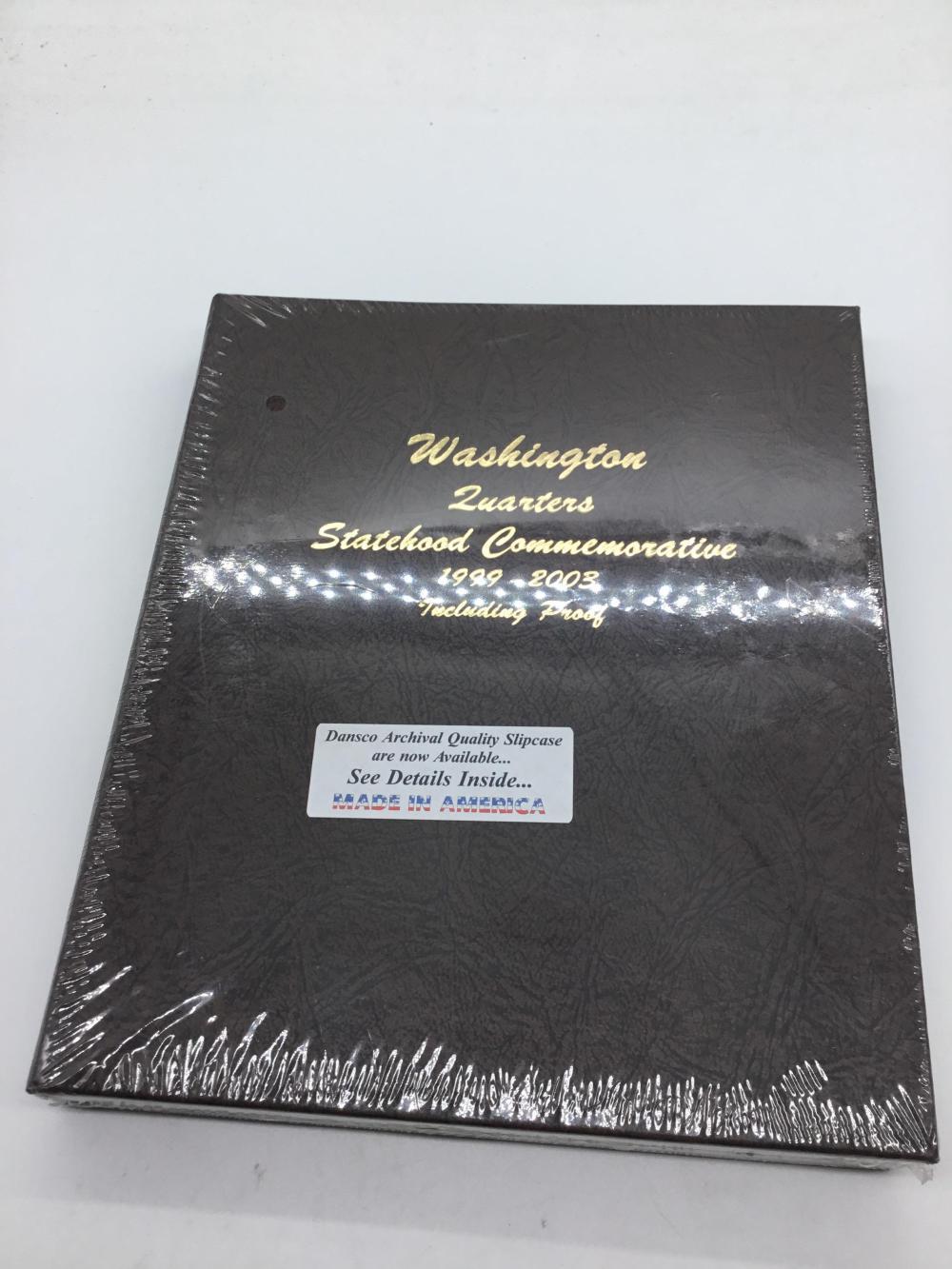 Washington quarter state hood album