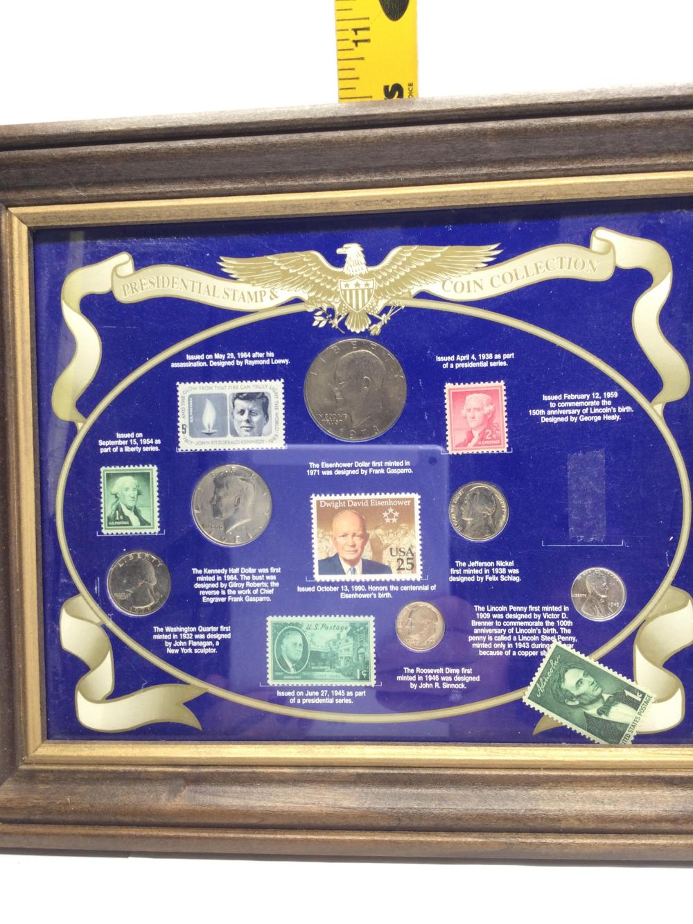 Presidential Stamp & Coin Collection